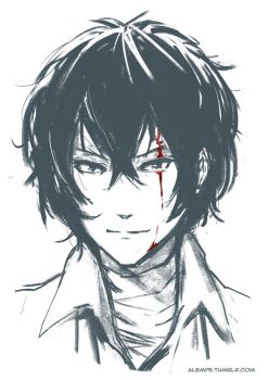 Dazai Quick Sketch by alempe