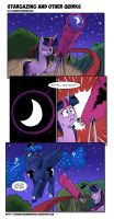 Stargazing And Other Quirks by saturdaymorningproj