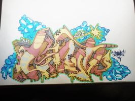 Chout graffiti by Chout