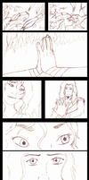 Avatar Wan+Kara (OC): 'Trust' Comic Strip PRACTICE by LoveOrMadness
