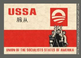 USSA: the Obamanation by RedTusker
