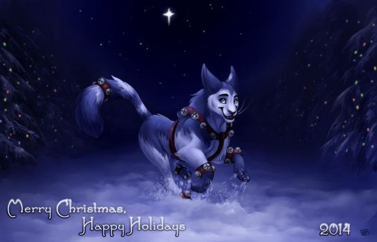 Happy Holidays 2014 by tigrin