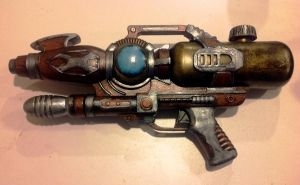 SteamPunk Water GUn by eldon14