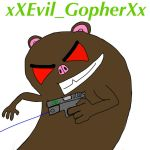 xXEvil_GopherXx by DE4DLYSNIP3RZ
