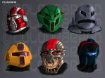 VENOM's Masks by Colourbrand