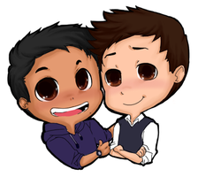 Cargan Chibis by Teh-Great-Ippeh