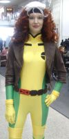 Rogue from X-Men by lunamaxwell