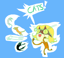 Cat's Paw - Superhero Purrsona by The-Concept-Artist