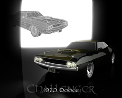 1970 Challenger by onyxshard