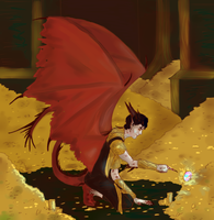 Smaug by Captain-Flowers