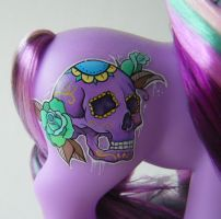 My Little Pony DotD Calavera symbol by eponyart