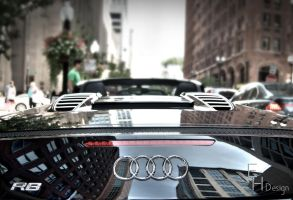 Audi R8 Rear by BonaFideChimp