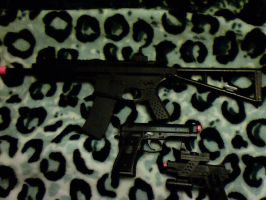 my airsoft gun collection by ryanwlf33