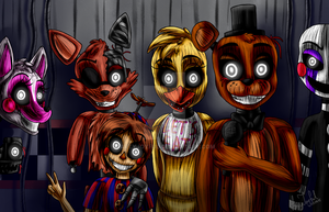 We all in your mind (Five Nights at Freddy's 3) by ArtyJoyful