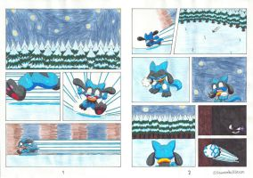 The Riolu and the Ruby - pages 1-2 by KawasakiBlitzer