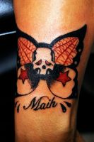 Sailor Jim Skull Butterfly 2 by WikkedOne