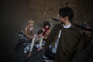 Shingeki no kyojin: Great escape by Ansuchi