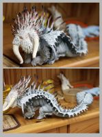 Bewilderbeast httyd2 in progress by hontor