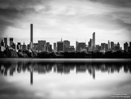 Grey City Reflections by CoastPhase