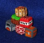 Minature Minecraft Blocks by zynwolf
