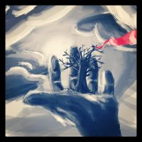 Palm of your hand by Alleforte