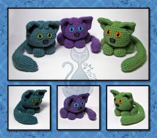 Amigurumi Cats by MyntKat