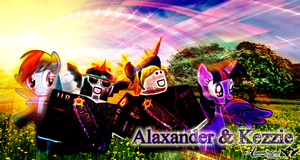 NFC: MLP Alaxadner and Kezzie (ROBLOX) by BCMmultimedia