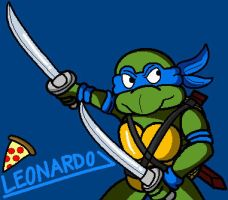 Leonardo [Teenage Mutant Ninja Turtles] by conkeronine