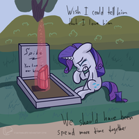 Rarity's remorse by chaosmalefic