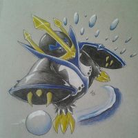 Day 2-Empoleon by Adolessence