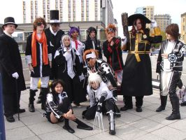 Oct Expo 08: D. Gray-Man group by NekoFlameAlchemist