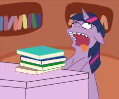 twilight sparkle MLP - the simpsons parody- by cheryl-jum