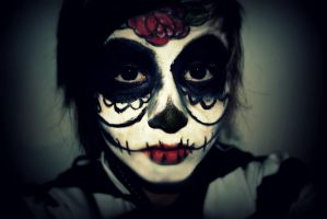 Sugarskull Makeup by EpicFailSceney