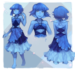 Lapis Re-Design by IDK-kun