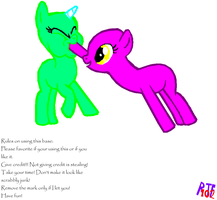 Mlp feeding you! Base. by RainbowtheFox102