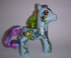 My Little Pony Flora and Fauna by colorscapesart