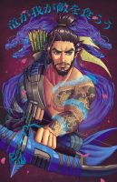 Hanzo by chrissie-zullo