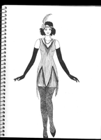 Flapper by TheLovelyLandofMary