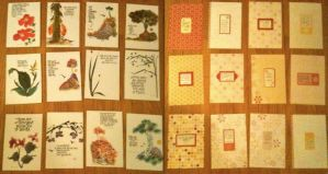 Holiday Cards Front and Back by Vivacia18