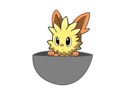 yooterii in a cup for beaken by DeidaraDeathNote