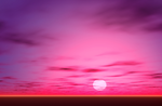 Pink and Purple Sky Background by Mikani-Stock