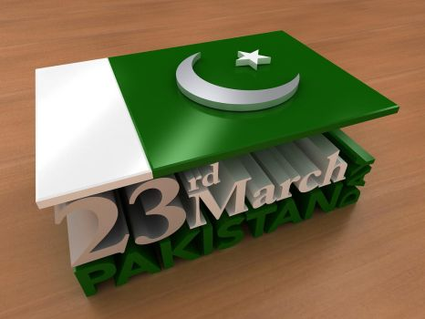 Pakistan Day | March 23rd by Digital-Saint