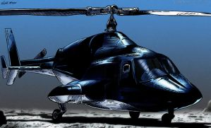 Airwolf (Color) by KeithMeyerArt