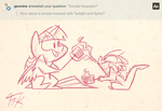 Twilight and Spike Request by FluttershytheKind