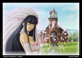 Hinata wedding by diabolumberto