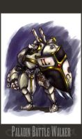 Paladin Battle Walker- by MarcWasHere