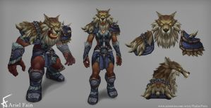 WoD - Frost Wolf Armor by PushinVerts