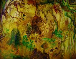 fungal jungle by d-zager