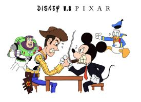 Disney vs Pixar Part One by jihef03