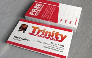 Trinity business card by Emberblue